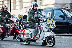 13 Mar 2016 - The 'Kick-start' scooter ride out in Central London