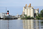 This is one in a series of images of Green Bay that I captured on June 1, 2013 (and a couple from Fall 2012) from my boat. Green Bay is a decidedly industrial city, but its riverfront is becoming more and more attractive over time.