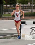 Briar Brumley of Cornell wins the women's steeplechase in 10:41.77 during the Jim Bush Southern California USATF Championships, Saturday, June 29, 2019, in Long Beach,  Calif.  (Ken McLin/Image of Sport)