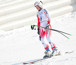 12.03.2010, Kandahar Strecke Damen, Garmisch Partenkirchen, GER, FIS Worldcup Alpin Ski, Garmisch, Lady SuperG, im Bild Fischbacher Andrea, ( AUT, #17 ), Ski Atomic, EXPA Pictures © 2010, PhotoCredit: EXPA/ J. Groder / SPORTIDA PHOTO AGENCY