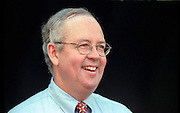 Kenneth Starr, the independent prosecutor investigating President Clinton's affair with former White House intern Monica Lewinsky November 10, 1998 at his home in McLean, VA.