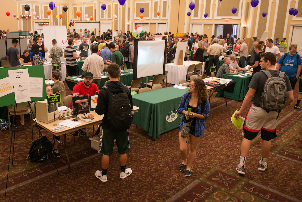 The 2016 Ohio University Majors Fair was held at the Baker Center Ballroom on Wednesday, September 14, 2016.