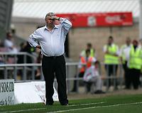 Photo: Lee Earle. <br /> Northampton Town v Swindon Town. Coca Cola Championship. 11/08/2007. <br /> Swindon manager Paul Sturrock.
