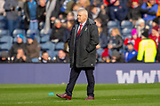 Wales head coach, Warren Gatland on the pitch before the Guinness Six Nations match between Scotland and Wales at BT Murrayfield Stadium, Edinburgh, Scotland on 9 March 2019.