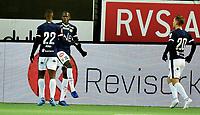 Fotball, 24. november  2019 , Eliteserien ,   Strømsgodset - Brann<br /> jubel Moses Mawa , SIF