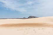 Cabo Verde, Boa Vista, the desert in the island