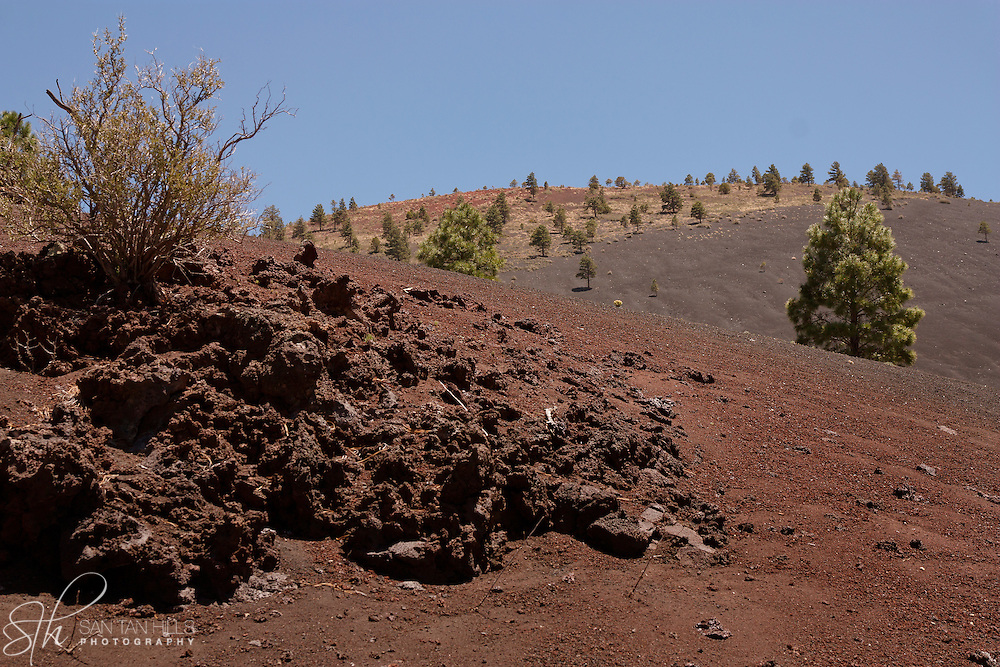 The gentle slopes surrounding Sunset Crater - AZ