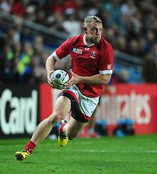 Phil Mackenzie of Canada  - Mandatory byline: Joe Meredith/JMP - 07966386802 - 01/10/2015 - Rugby Union, World Cup - Stadium:MK -Milton Keynes,England - France v Canada - Rugby World Cup 2015