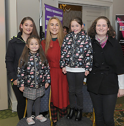 Darcy and Melanie Fernandes with Shauna Moran, Eithne Kilroy and Cara Farrell at the Burrischoole does Broadway event on saturday night last. <br /> A night of fantasic costumes, perfectly rehearsed choreography and great entertainment as  Burrischoole GAA did Broadway,<br /> The event in aid of the GAA club was attended by over 400 punters at Knockranny House Hotel on saturday night last.<br /> Pic Conor McKeown