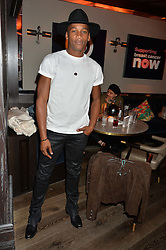 ERIC UNDERWOOD at the Fashion Targets Breast Cancer 20th Anniversary Party held at 100 Wardour Street, Soho, London on 12th April 2016.