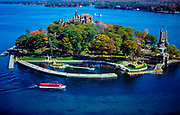 Aerial view of 1000 Islands, New York