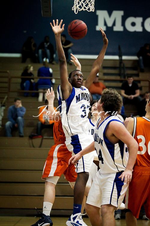 January/12/12:  MCHS JV Boy's Basketball vs Clarke.  Madison loses to Clarke 47-21.