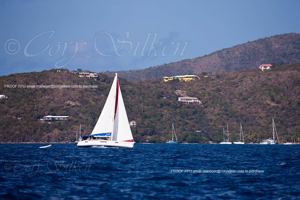 "Manhattan Sailing Club ""De Caribbean Regatta"" race from Marina Cay to The Dog Islands."