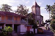Christ Church, Port Antonio, Anglican Church built in 1840, Jamaica