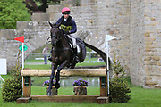 Rosie Fry riding True Blue Too II during the International Horse Trials at Chatsworth, Bakewell, United Kingdom on 12 May 2018. Picture by George Franks.