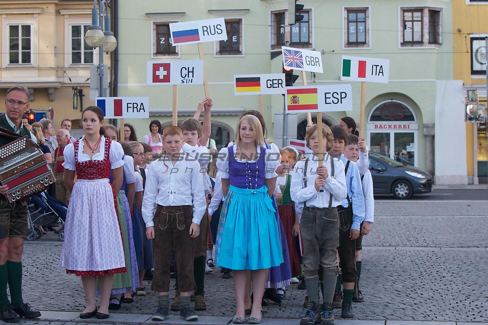 Platu25 worlds 2011, Gmundenlake traunsee,Austria,opening ceremony