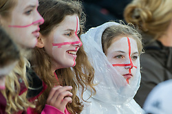 England supporters. England v Germany - Unibet EuroHockey Championships, Lee Valley Hockey & Tennis Centre, London, UK on 26 August 2015. Photo: Simon Parker