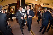 NICOLA BURGAZZI; LORENZO SQUINTONI, Preview party for the Versace Sale.  The contents of fashion designer Gianni Versace's villa on Lake Como. Sothebys. Old Bond St. London. 16 March 2009.  *** Local Caption *** -DO NOT ARCHIVE -Copyright Photograph by Dafydd Jones. 248 Clapham Rd. London SW9 0PZ. Tel 0207 820 0771. www.dafjones.com<br /> NICOLA BURGAZZI; LORENZO SQUINTONI, Preview party for the Versace Sale.  The contents of fashion designer Gianni Versace's villa on Lake Como. Sothebys. Old Bond St. London. 16 March 2009.