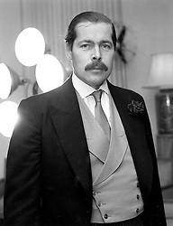 The missing 7th EARL OF LUCAN, missing since November 1974.GLZ 122<br /> PUBLICATION FEE MUST BE AGREED PRIOR TO USE<br /> © Desmond O'Neill Features:- + 44 (0) 7092 235465<br /> www.donfeatures.com   info@donfeatures.com