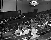 27/02/1958<br /> 02/27/1958<br /> 27 February 1958<br /> An Cumann na Gaelach Inaugural at University College Dublin, Dublin.