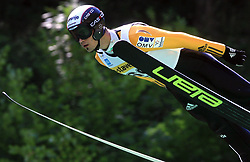 Robert Hrgota of Slovenia at FIS Continental cup Ski-jumping Summer Kranj, on July 6, 2008, Kranj, Slovenia. (Photo by Vid Ponikvar / Sportal Images)<br /> <br /> / Sportida)