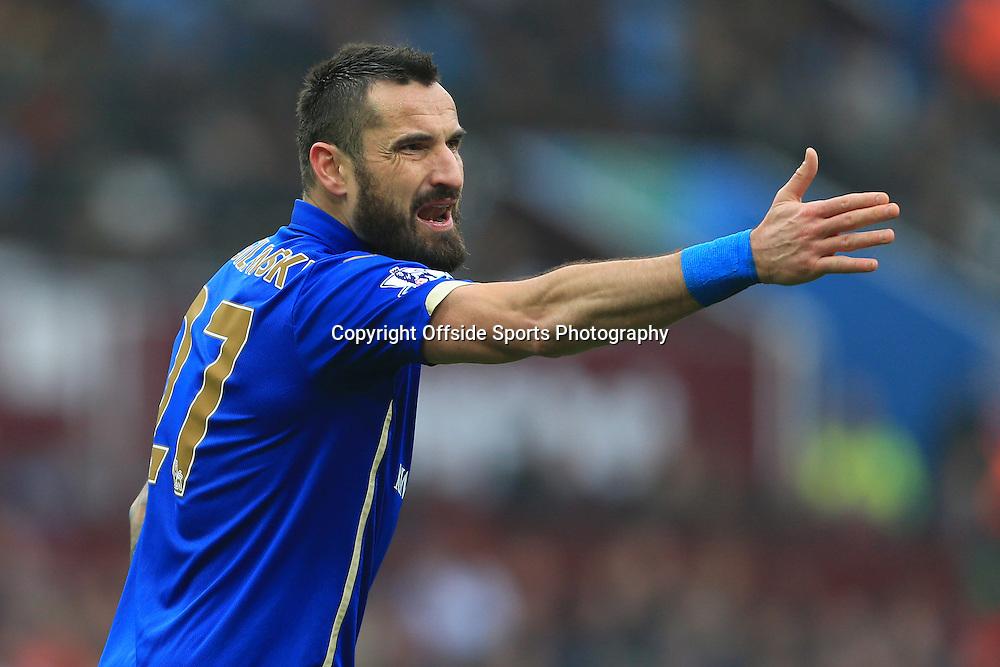 15th February 2015 - FA Cup 5th Round - Aston Villa v Leicester City - Marcin Wasilewski of Leicester - Photo: Simon Stacpoole / Offside.