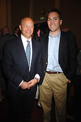 Left to right, SHOLTO DOUGLAS-HOME and MR NICK HOWARD son of Michael Howard at a party to celebrate the publication of Sandra Howard's book 'Ursula's Stor' held at The British Academy, 10 Carlton House Terace, London on 4th September 2007.<br />