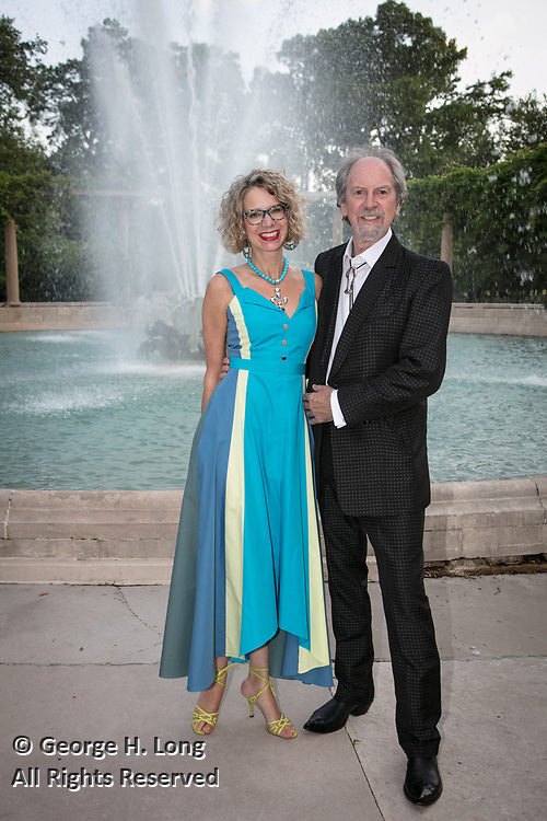 Wendy Rodrigue at the Louisiana Endowment for the Humanities Bright Lights Awards Dinner at Popp Fountain in City Park of New Orleans on May 10, 2018