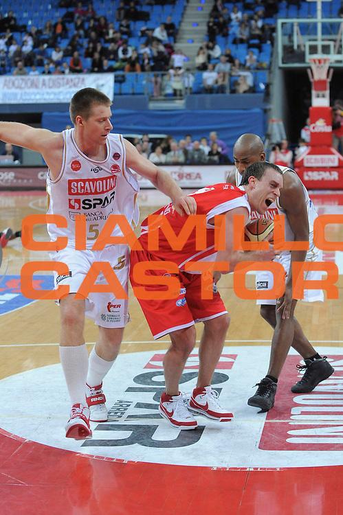 DESCRIZIONE : Pesaro Lega A 2008-09 Scavolini Spar Pesaro Bancatercas Teramo<br /> GIOCATORE : Ryan Hoover<br /> SQUADRA : Bancatercas Teramo<br /> EVENTO : Campionato Lega A 2008-2009<br /> GARA : Scavolini Spar Pesaro Bancatercas Teramo<br /> DATA : 22/03/2009<br /> CATEGORIA : Equilibrio<br /> SPORT : Pallacanestro<br /> AUTORE : Agenzia Ciamillo-Castoria/G.Ciamillo
