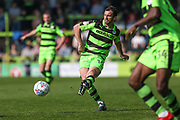Forest Green Rovers Gavin Gunning(16) during the EFL Sky Bet League 2 match between Forest Green Rovers and Chesterfield at the New Lawn, Forest Green, United Kingdom on 21 April 2018. Picture by Shane Healey.