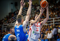 Gorener Tibet of Turkey  during basketball match between National teams of Turkey and Slovenia in the SemiFinal of FIBA U18 European Championship 2019, on August 3, 2019 in Nea Ionia Hall, Volos, Greece. Photo by Vid Ponikvar / Sportida