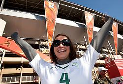 Tanja, girlfriend of Marko Suler prior to the 2010 FIFA World Cup South Africa Group C match between Slovenia and USA at Ellis Park Stadium on June 18, 2010 in Johannesberg, South Africa. (Photo by Vid Ponikvar / Sportida)