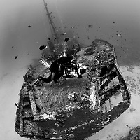 Shipwreck Stella Maru, Mauritius, Indian Ocean. Image from the offical World Championship in Underwater Photography arranged by CMAS.