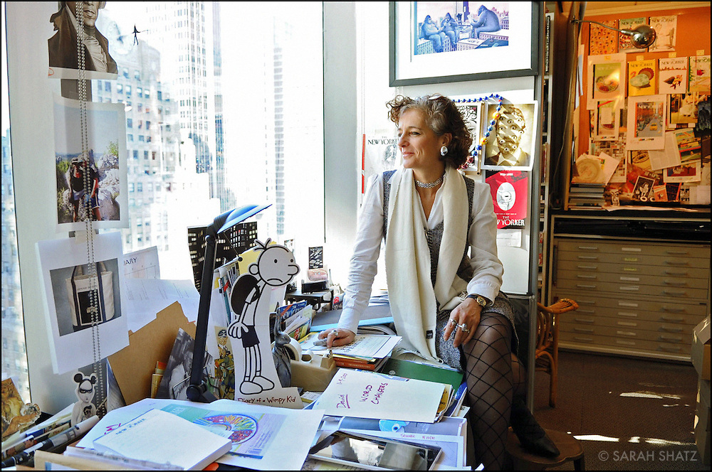 Françoise Mouly, Art Editor, The New Yorker, Publisher and Editorial Director of TOON Books