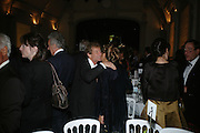 HON ERSKINE GUINNESS AND THE MARCHIONESS OF DOURA, Dinner in aid of 'Action Trust For the Blind organised by Matthew Carr. 20th Century Theatre. Westbourne Gro. London. 26 September 2007. -DO NOT ARCHIVE-© Copyright Photograph by Dafydd Jones. 248 Clapham Rd. London SW9 0PZ. Tel 0207 820 0771. www.dafjones.com.