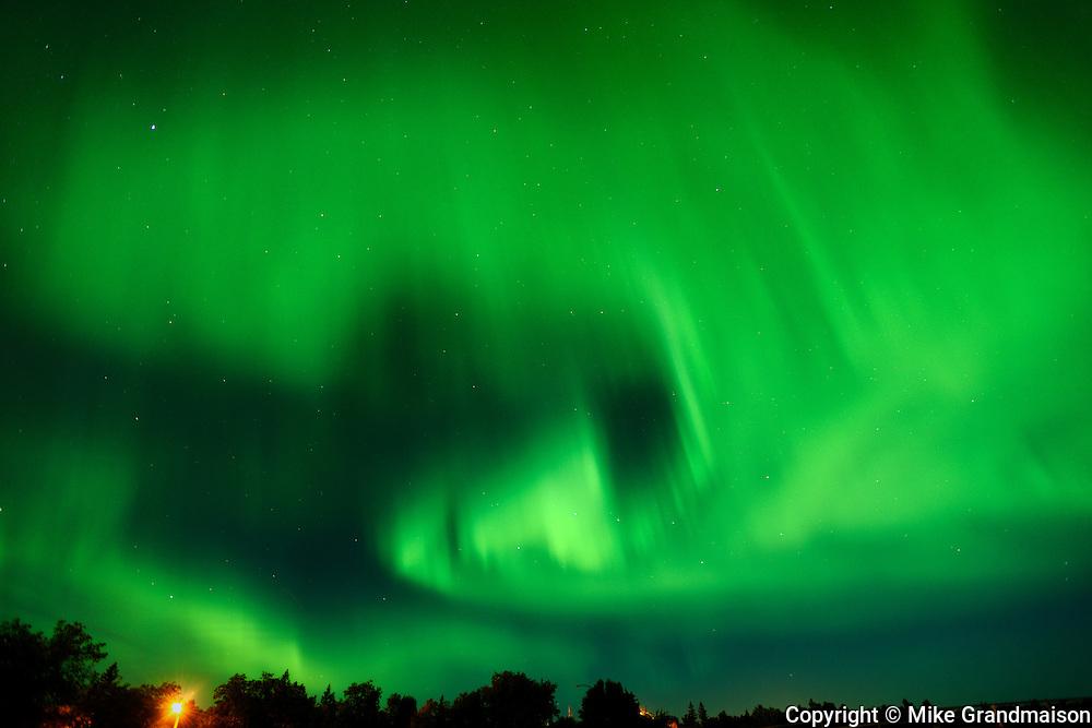 Northern lights or aurora borealis <br /> Matlock<br /> Manitoba<br /> Canada