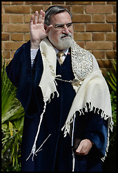 The Out going UK Chief Rabbi Lord Jonathan Sacks, who has held the post since 1991, London, United Kingdom. Sunday, 1st September 2013. Picture by Andrew Parsons / i-Images