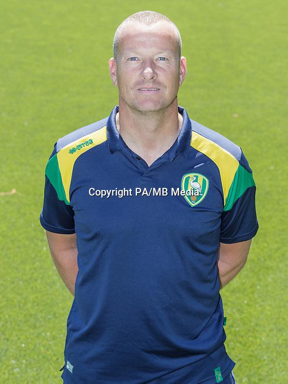 Arno van Zwam (keeperstrainer)