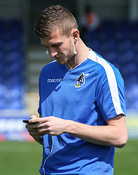 Adam Smith of Bristol Rovers on the pitch before the game - Mandatory by-line: Arron Gent/JMP - 19/04/2019 - FOOTBALL - Cherry Red Records Stadium - Kingston upon Thames, England - AFC Wimbledon v Bristol Rovers - Sky Bet League One