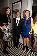 PLUM SYKES; JASON WU; CHRISTINE AL-BADER, Party hosted for Jason Wu by Plum Sykes and Christine Al-Bader. Ladbroke Grove. London. 22 March 2011. -DO NOT ARCHIVE-© Copyright Photograph by Dafydd Jones. 248 Clapham Rd. London SW9 0PZ. Tel 0207 820 0771. www.dafjones.com.