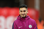 Ilkay Gundogan during the Premier League match between Stoke City and Manchester City at the Bet365 Stadium, Stoke-on-Trent, England on 12 March 2018. Picture by Graham Holt.