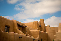 Santa Fe, New Mexico - September 28, 2014: The New Mexico Museum of Art near the plaza, one of the many art destinations in Santa Fe. CREDIT: Chris Carmichael for the New York Times