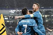 Juventus v Real Madrid 4 April 2018