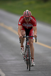 Nathan Bartels (TT1) during stage 1 of the Tour of Virginia.  The Tour of Virginia began with a 4.7 mile individual time trial near Natural Bridge, VA on April 24, 2007. Formerly known as the Tour of Shenandoah, the ToV has gained National Race Calendar (NRC) status for the first time in its five year history.