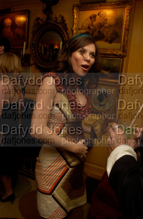 Anna Friel. Artists Independent Networks  Pre-BAFTA Party at Annabel's co hosted by Charles Finch and Chanel. Berkeley Sq. London. 11 February 2005. . ONE TIME USE ONLY - DO NOT ARCHIVE  © Copyright Photograph by Dafydd Jones 66 Stockwell Park Rd. London SW9 0DA Tel 020 7733 0108 www.dafjones.com