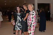 KATHRYN GREIG; DONELLA TARANTELLI; DORA LOEWENSTEIN, Masterpiece Midsummer Party in aid of CLIC Sargent. Masterpiece London. The Royal Hospital, Royal Hospital Road, London, SW3. 3 July 2012.