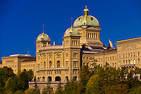 Parliament Building (Federal Palace of Switzerland), Bern, Canton Bern, Switzerland