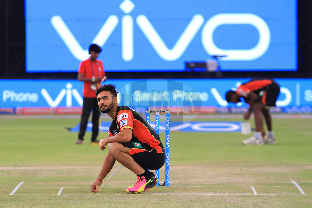 VIVO branding during match 39 of the Vivo Indian Premier League ( IPL ) 2016 between the Kings XI Punjab and the Royal Challengers Bangalore held at the IS Bindra Stadium, Mohali, India on the 9th May 2016<br /> <br /> Photo by Arjun Singh / IPL/ SPORTZPICS