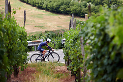Sofia Bertizzolo (ITA) during Stage 6 of 2019 Giro Rosa Iccrea, a 12.1 km individual time trial from Chiuro to Teglio, Italy on July 10, 2019. Photo by Sean Robinson/velofocus.com