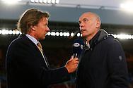 09-04-2016 VOETBAL:PSV:WILLEM II:EINDHOVEN<br /> Trainer/Coach Jurgen Streppel van Willem II voor Fox sports in gesprek met Hans Kraay jr<br /> <br /> Foto: Geert van Erven